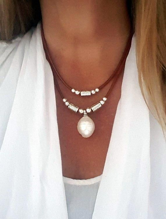 Leather Short Necklace