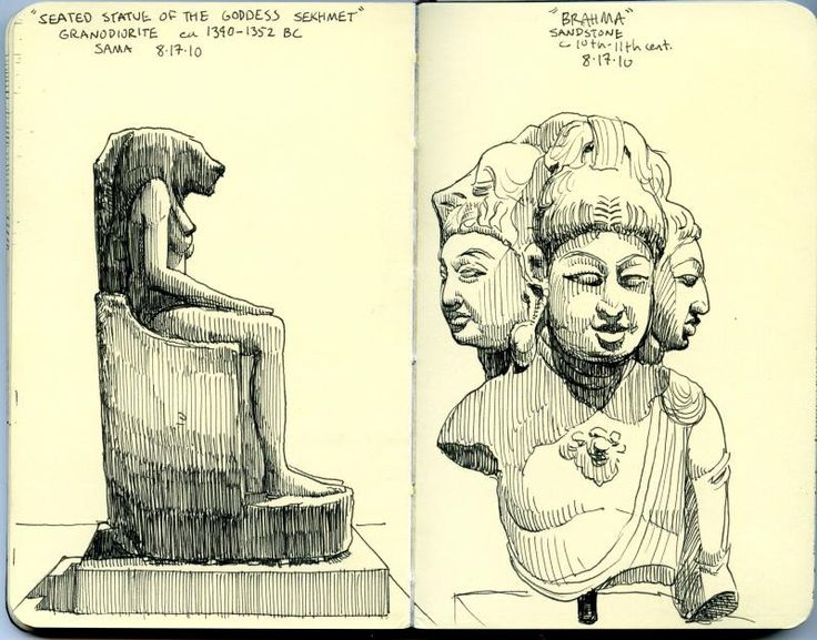 https://flic.kr/p/8tkj6u | san antonio museum of art sketches | blogged