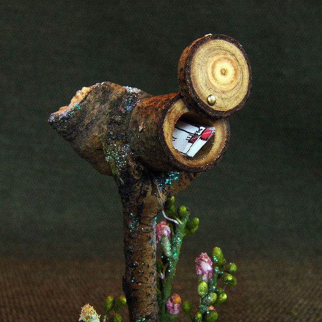 Garden Mailbox by Torisaur
