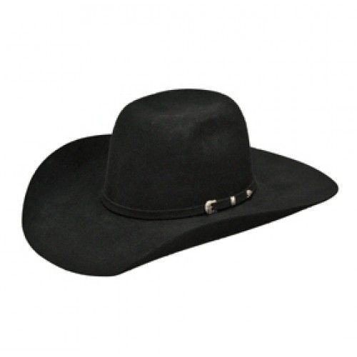 Kids Cowboy Hat  Ariat Cool Hand Luke Black Kids Wool Felt