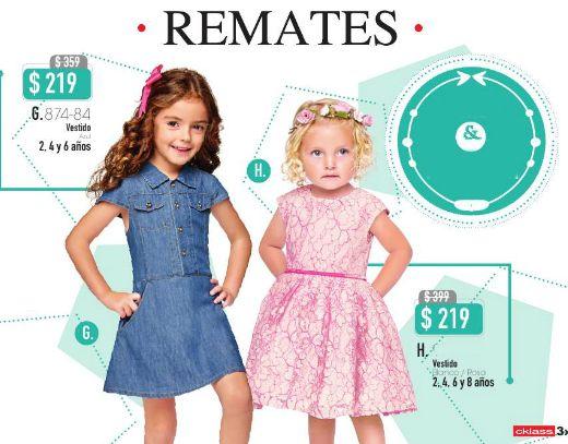 Vestidos Cklass para Niñas, moda actual. #niñas #modainafantil #vestidosdeniñas
