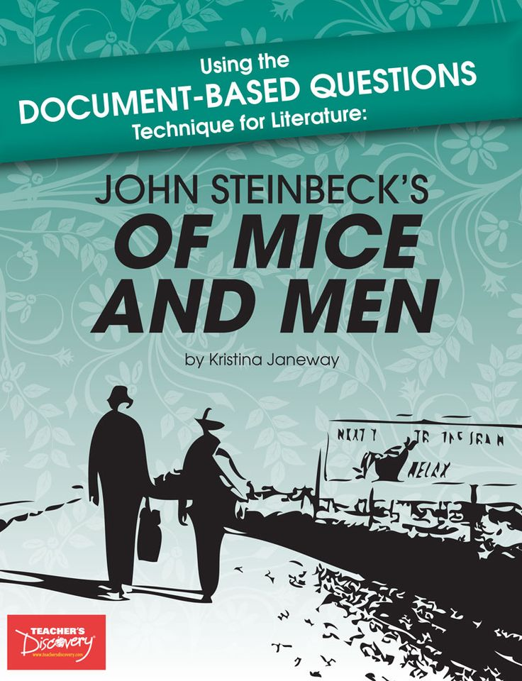 of mice and men context By john steinbeck of mice and men john steinbeck one of the great american writers of the 20th century a look at the author born february 27th in 1902 in salinas, california, john was the third of four children, and the only son.