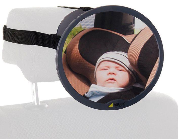 Ahorra 10 euros en el Hauck 618370 Watch Me, espejo retrovisor para siento trasero en Amazon: solo cuesta 9.99 euros