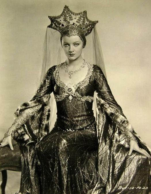 Myrna Loy, as Morgana in a  Connecticut Yankee in King Arthur's Court.  ...Yes, she still owns you. More so. Look at that hat.