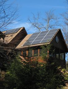 Off-Grid Cottages:  We've been installing off-grid homes since 1996.  Call us today to go off the grid.