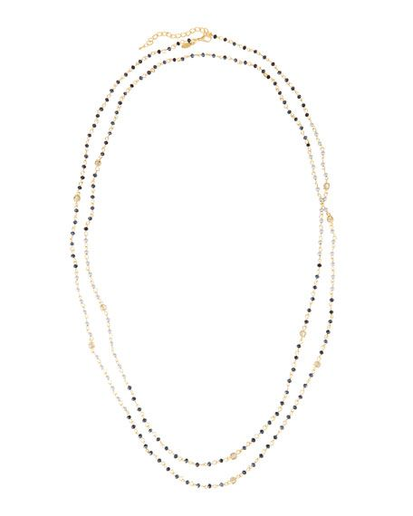 """Greenbeads by Emily & Ashley - """"Long Beaded Necklace"""""""