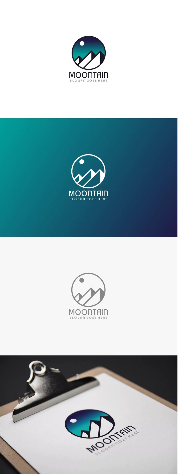 Mountain Logo Template AI, EPS