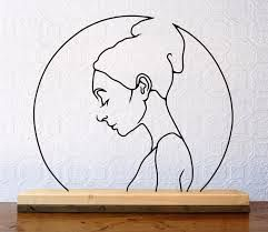 gavin worth in this wrk a thoughtful bautiful young woman is inside a circle, the full moon?