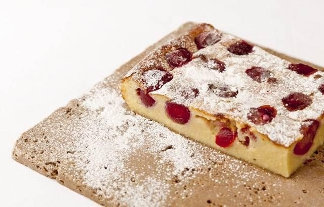 Griotte cherry clafoutis - Pascal Aussignac