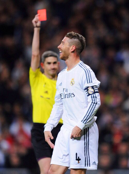 Ramos. If this isn't the most accurate photo of him idk what is. Still love him tho.