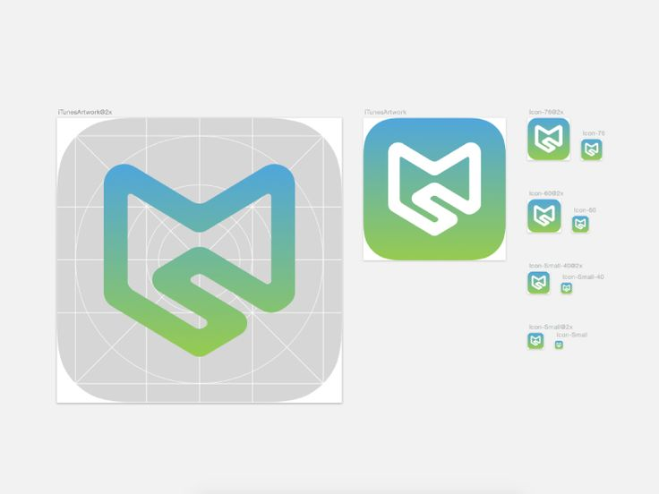 MS Logo #graphic #design #logo www.mindspiritdesign.com