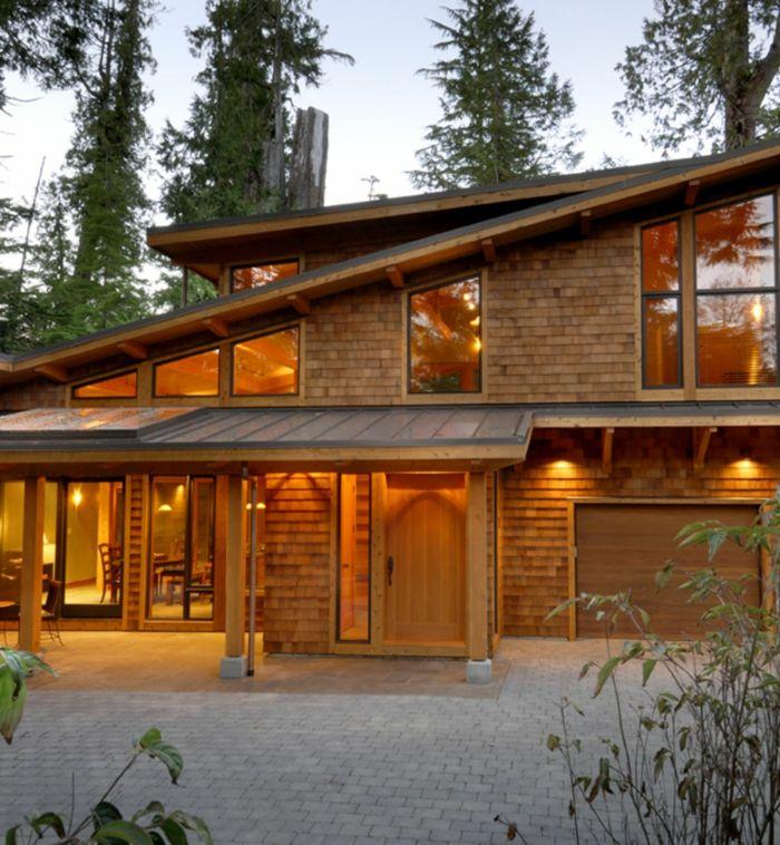 32 besten Häuser Bilder auf Pinterest | Holzfassade, Fassaden und ...