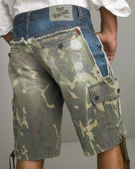 """Как """"починить"""" порванные мужские джинсы - ИДЕИ - ?"""