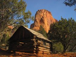Larson Cabin in Kolob Canyons Wilderness http://www.nps.gov/zion/planyourvisit/kolob-canyons.htm