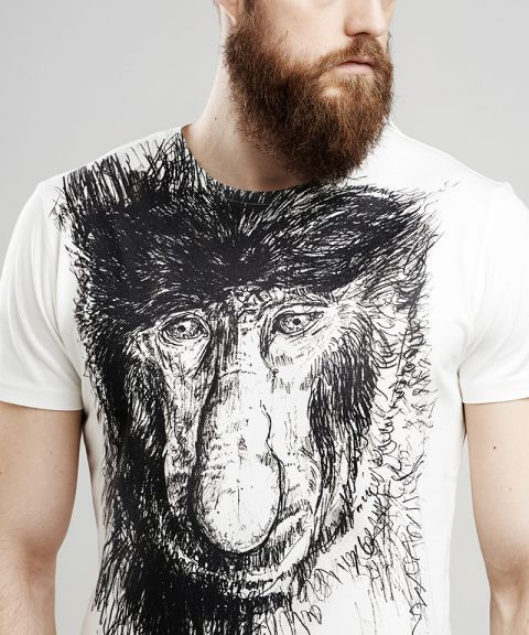 Proboscis face t-shirt