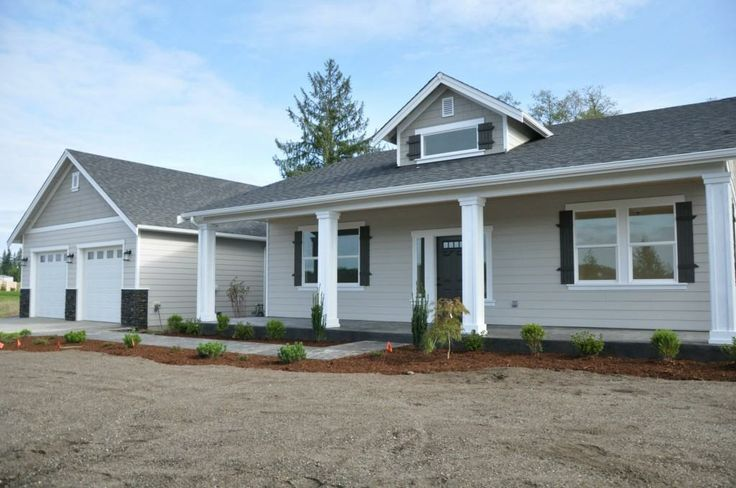 3 Bed Office Split Plan Rambler Covered Front Porch 16