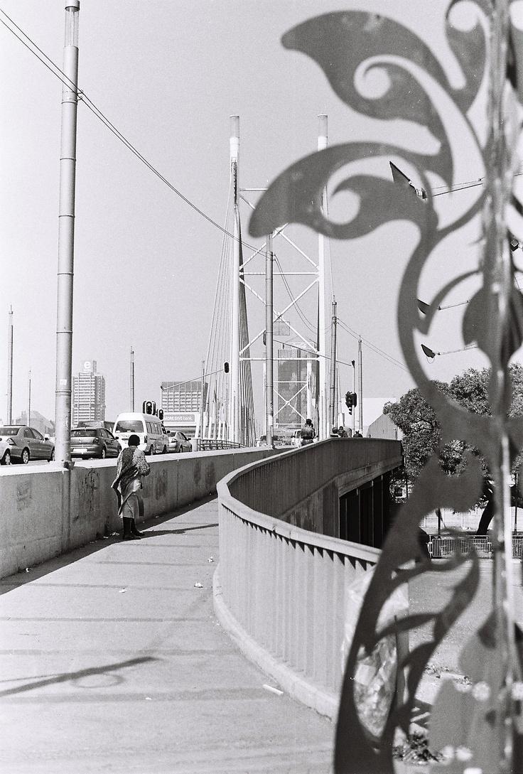 pentax k1000- Nelson Mandela bridge
