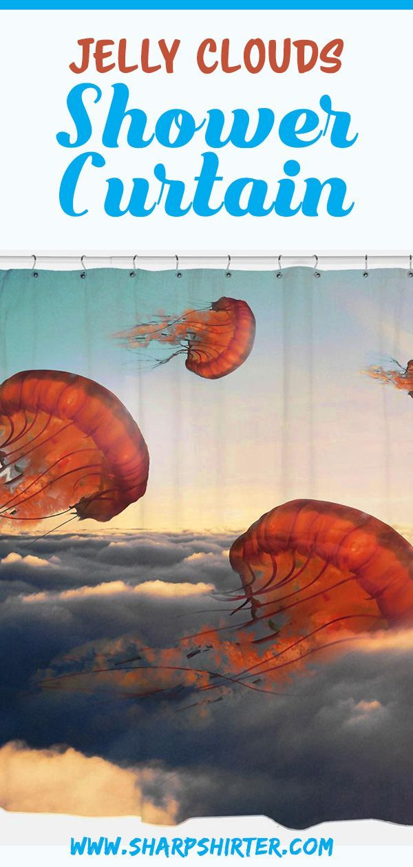 Enjoy This Whimsical Art Piece Jelly Clouds Featuring Jellyfish