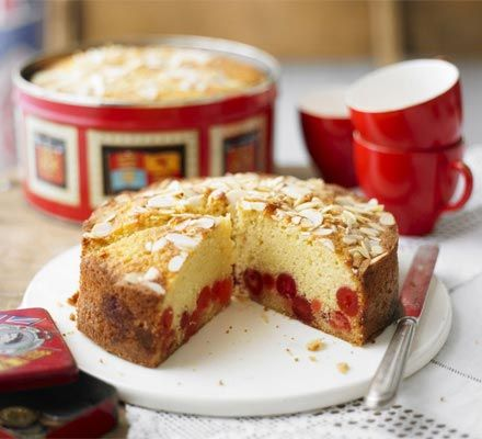 Cherry cakes are one of the most popular cakes sold by baking experts, the WI. This one will be a guaranteed hit at any cake sale