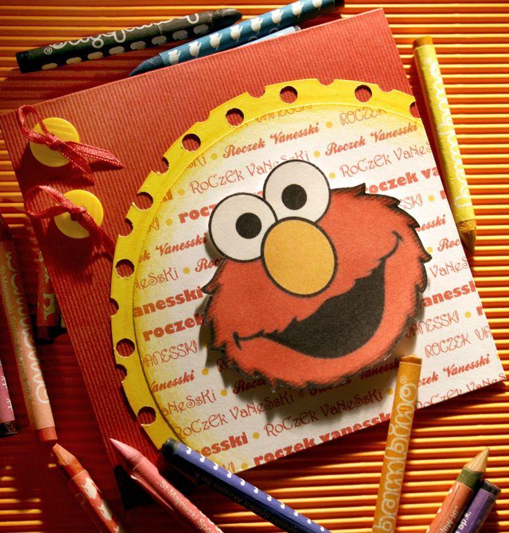 I jeszcze jeden idol wszystkich maluszków - Elmo :)