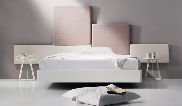 Dormitorio matrimonio: Nuit 23 cabezal babel de Mobenia