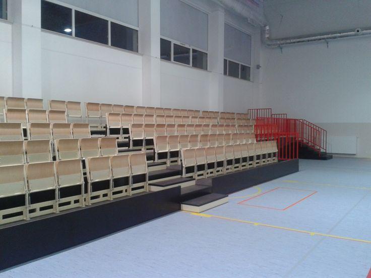 Nasze trybuny sportowe znajdują się w wielu miejscowościach w całej Polsce. Jeśli chcesz zamontować taką w swoim mieście, zachęcamy do kontaktu: http://www.wamat.com.pl/pl/oferta/trybuny  #trybuny #sportowe