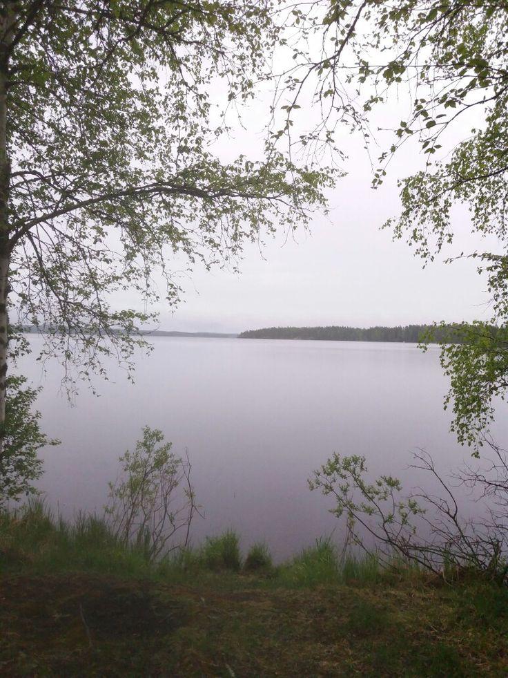 Lake Ähtärinjärvi, Southern Ostrobothnia, Finland.