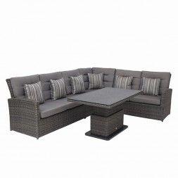 Fabulous Die Loungeserie Triest von Siena Garden steht f r Wohnkultur im Outdoorbereich Bei der Herstellung werden hochwertige Rohmaterialien verwendet