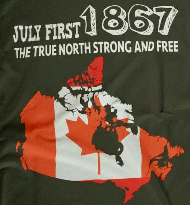 July 1 2017! 150 years old Canada! !- coolsexyvibes