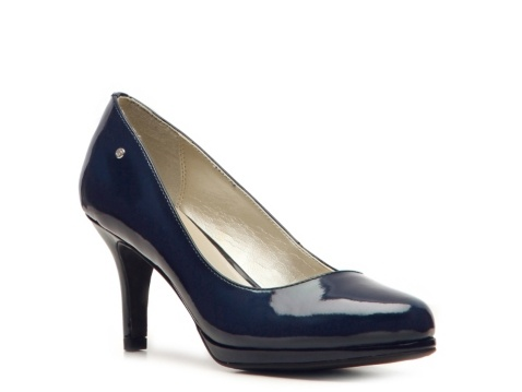 Bought in red today! Etienne Aigner Drew Patent Pump