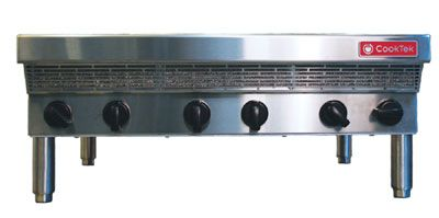 counter-top or work table mounted, 6 burner x 3500 watts each burner ...