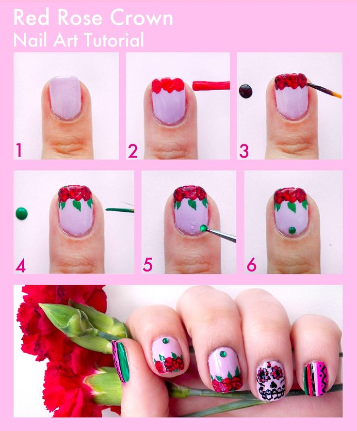 25 best step by step nail art images on Pinterest | Nail scissors ...