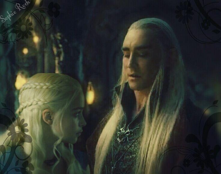 King Thranduil and Queen Daenerys Targaryen