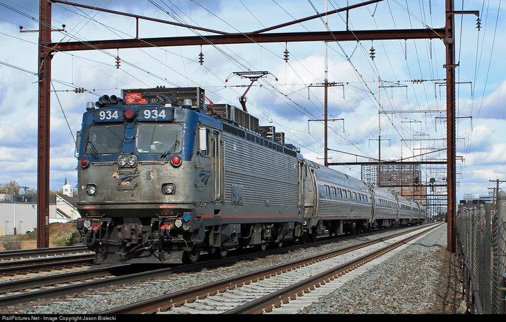 RailPictures.Net Photo: AMTK 934 Amtrak ASEA AEM-7 at New Brunswick, New Jersey by Jason Bialecki