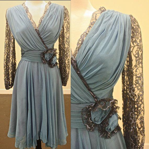 Vintage 50s Dress by Miss Elliette Dress by SaintEssexVintage