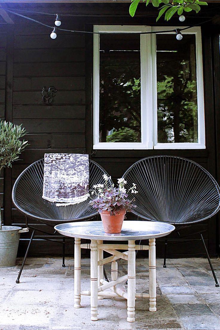 zwarte schuur in je tuin