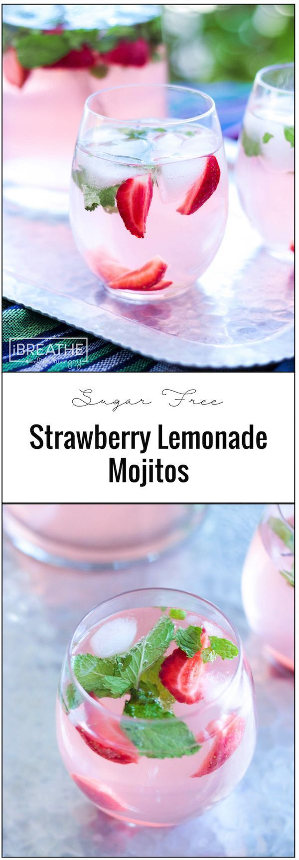 Strawberry Lemonade Mojito. This alcoholic cocktail has all the taste of the original but none of the carbs! So, if you're on a low carb or keto diet but still want to enjoy some alcohol then these drinks are a great option. These easy and refreshing sugar free strawberry lemonade mojitos have been my go…