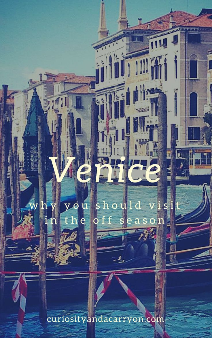 Venice in the Off Season | Venice, Italy in April