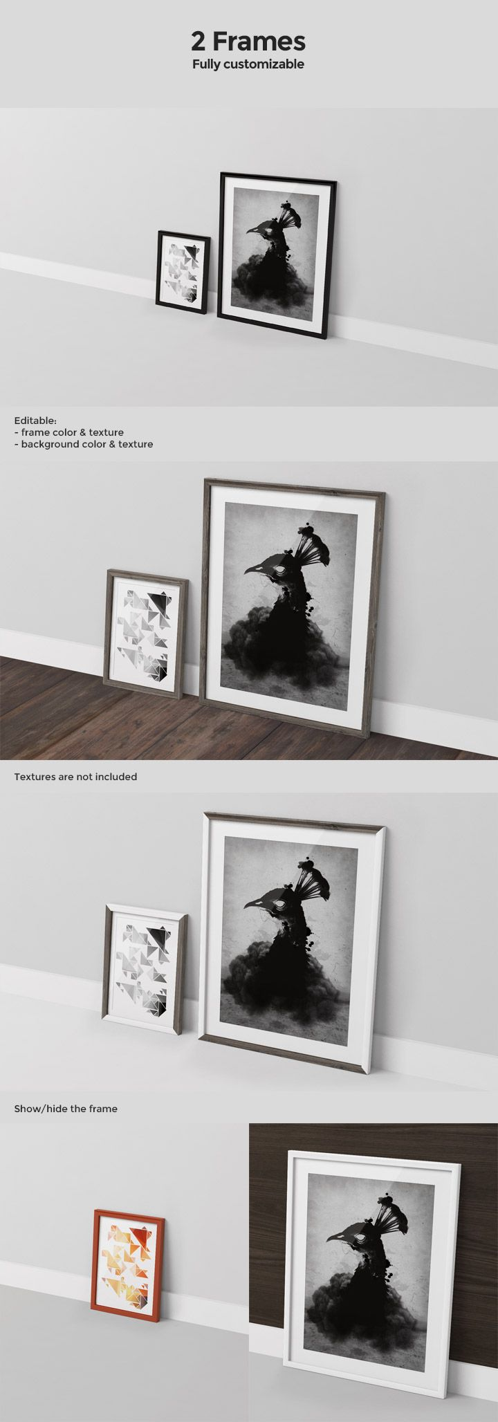 39 best images about mockups on pinterest brown paper bags free create your own scene to showcase your artwork with this frame mock up collection 10 mock up 6 frame jeuxipadfo Choice Image