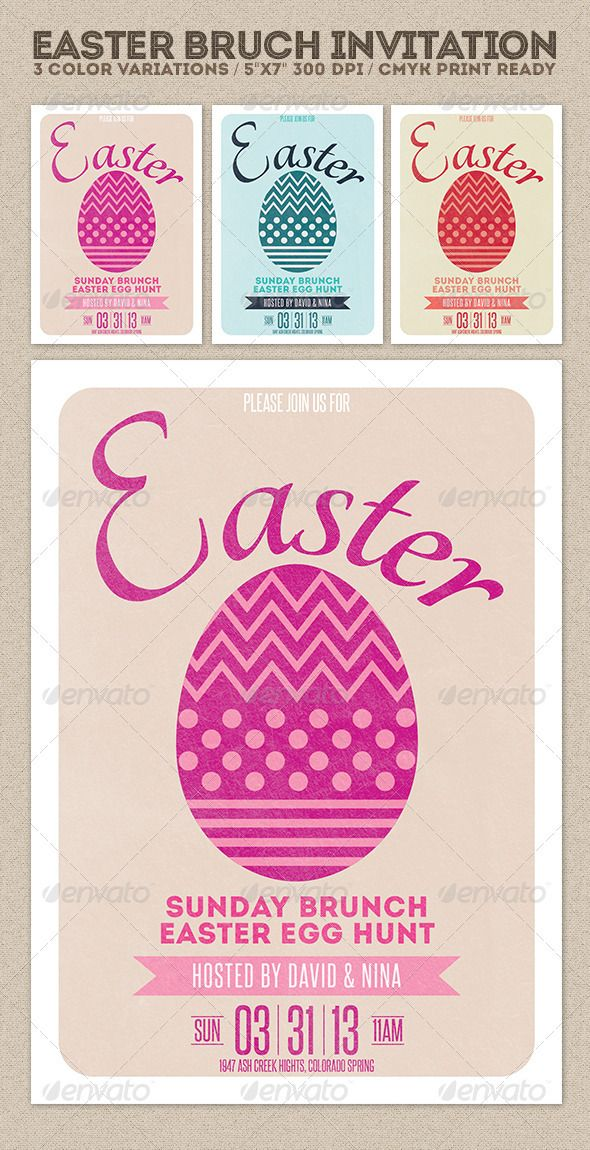 Best Easter Invitations Templates Images On   Create