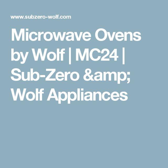 Microwave Ovens by Wolf   MC24   Sub-Zero & Wolf Appliances