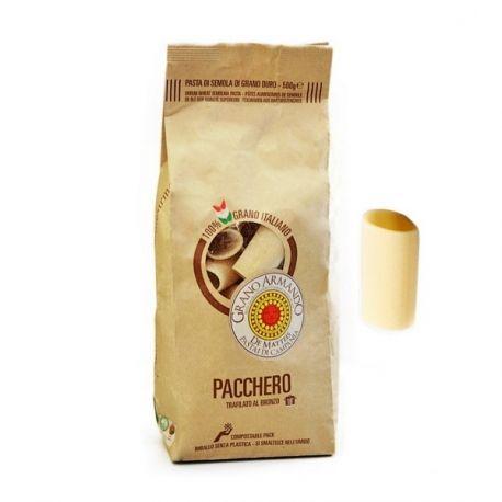 Pacchero 500g - http://www.terranatia.it/it/pasta-di-grano-duro/Pacchero-103.html