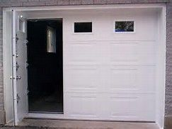 Superb Garage Doors With Man Door 1 Garage Door With Pedestrian Access Garage Doors Double Garage Door Garage Door Makeover