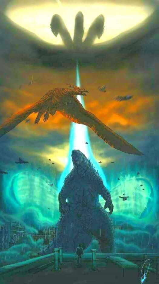 Godzilla King Of The Monsters 2019 Godzilla Continued In