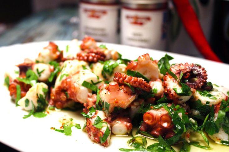 Pulpo / Oktopus Salat