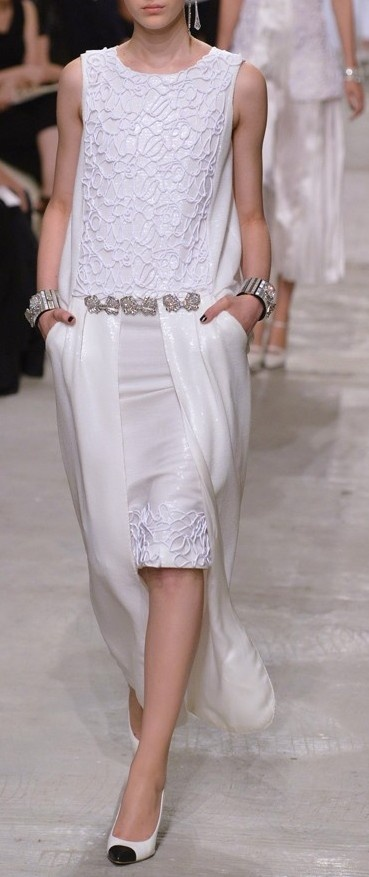 Chanel Resort 2014...20's chemise, anyone??? =)