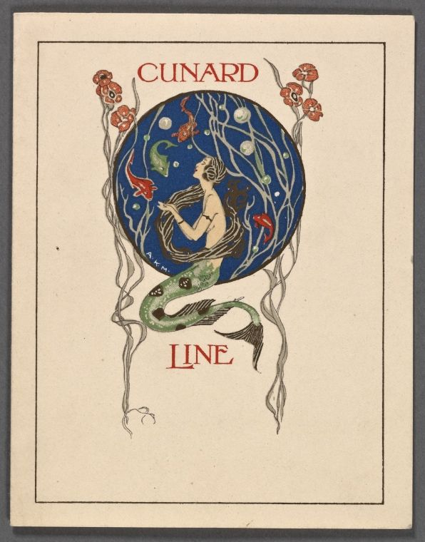 "Rare Book Division, The New York Public Library. ""R.M.S. ""Aquitania"""" The New York Public Library Digital Collections. 1924."