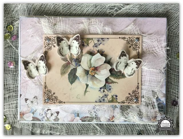 Couture Creations: With Sympathy/Thinking of You Card by Tracey Rohweder