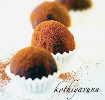 Chocolate Truffles Recipe | Chocolate Truffles, Truffles and Chocolate