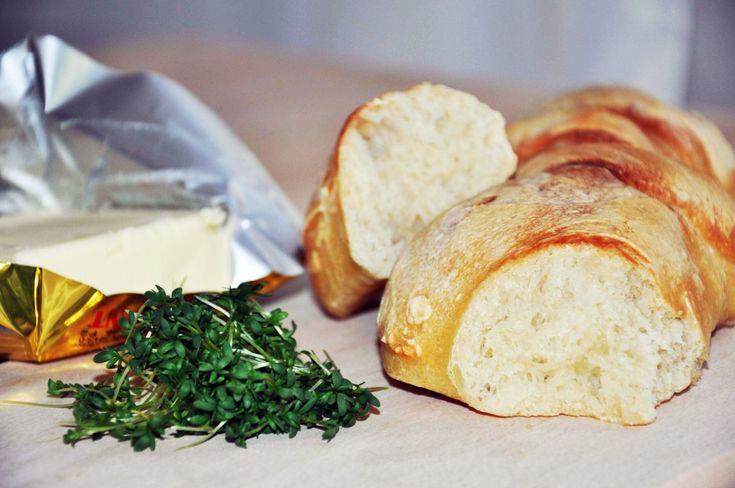 Bageta, pečivo, pšeničný klas